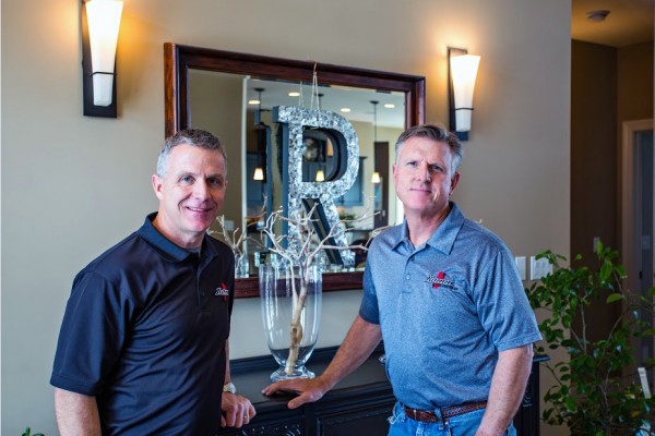 Ted and Jerry Ramm with Ramm Construction an Omaha Custom Home Builder