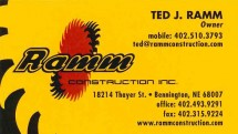 Ted Ramm - Ramm Construction - Omaha Custom Home Builder
